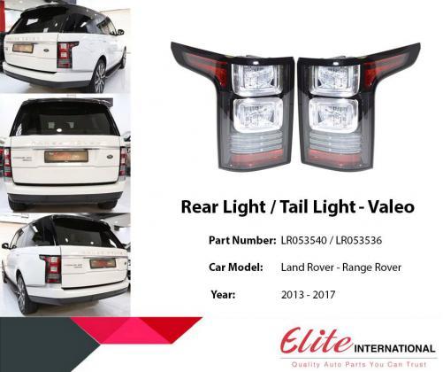 Wholesale Range Rover Parts - Elite International Motors